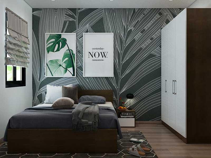 Phòng ngủ căn hộ Alva Plaza 49m2