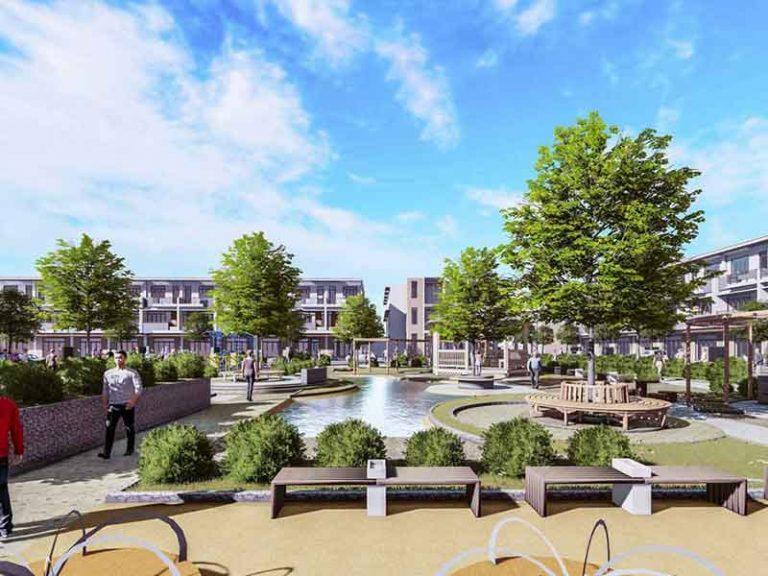 Công viên nội khu Dự án Khu dân cư Việt Úc Varea Long An