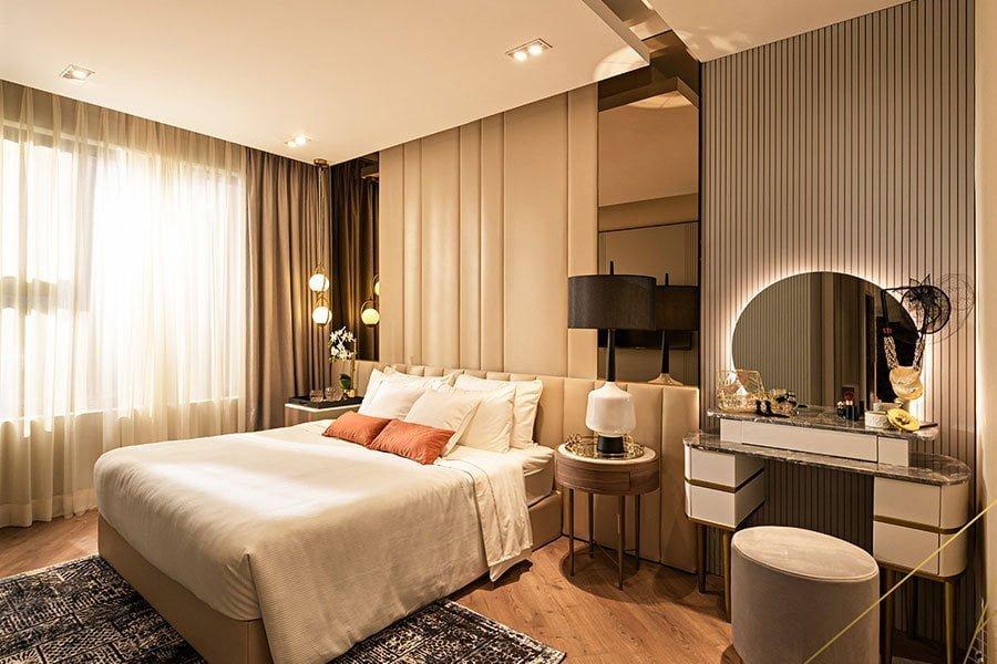 Phòng ngủ căn hộ Anderson Park Bình Dương