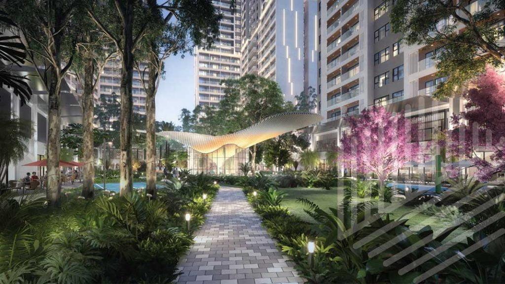 Công viên dự án Anderson Park Thuận An Bình Dương