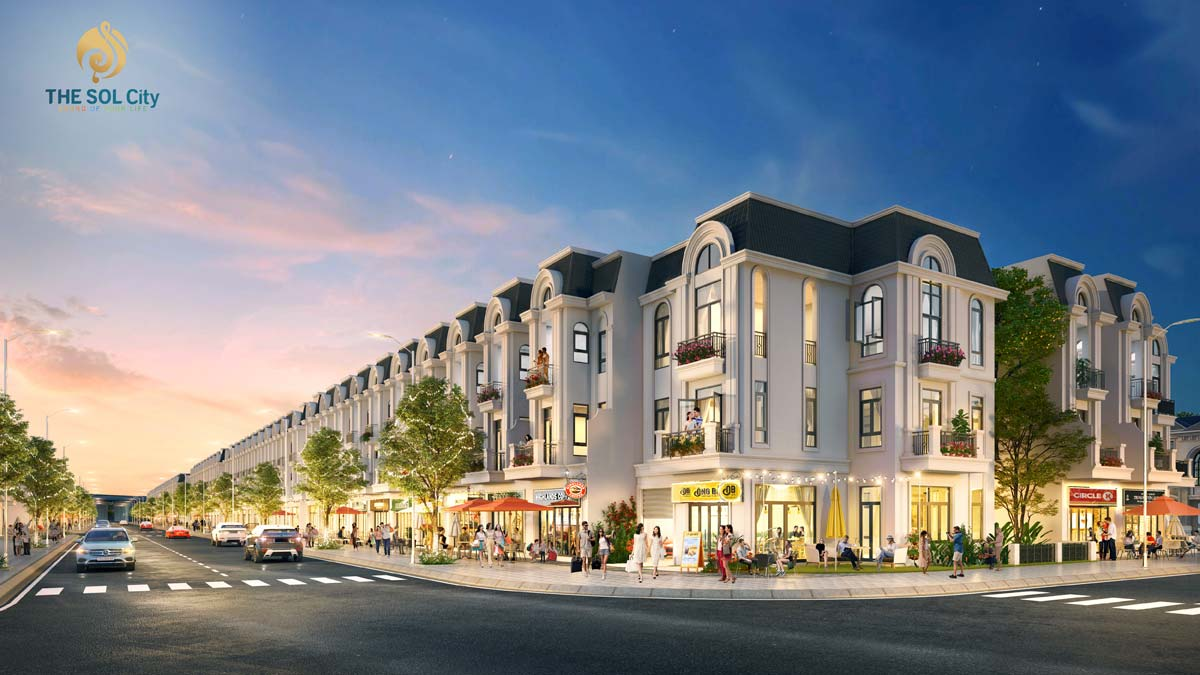 MD Shophouse The SOL City - Thắng Lợi