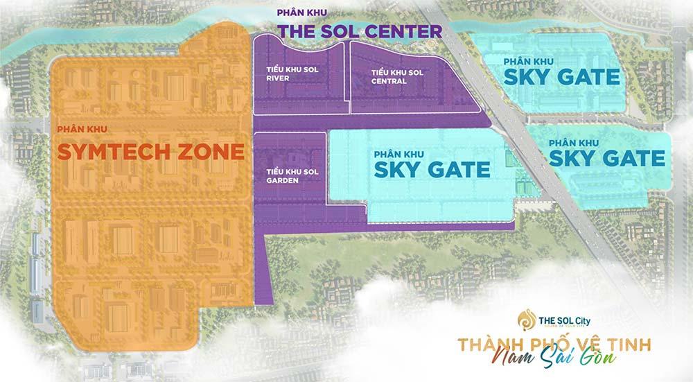 Phân khu The SOL City