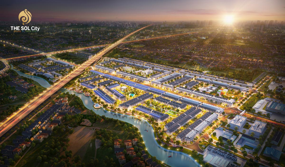 Phối cảnh dự án The SOL City - Thắng Lợi