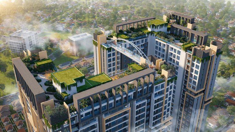 Toàn cảnh tiện ích tầng 40 tại dự án Happy One Central