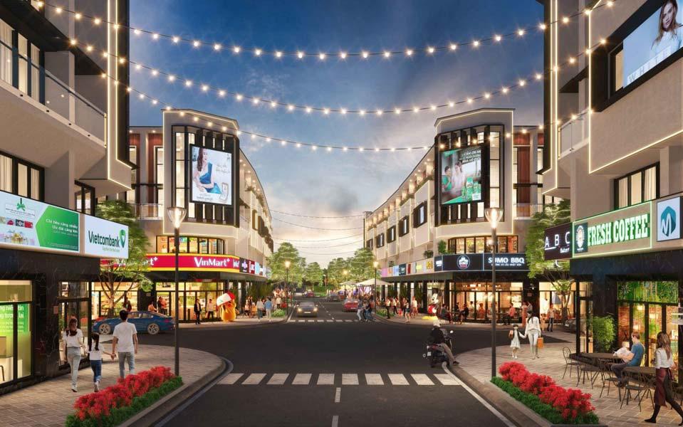 Trung tâm thương mại tại The Sol City