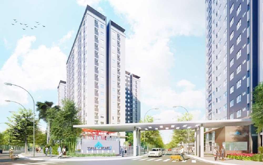 Dự án nhà ở xã hội Topaz Home 2 - Vạn Thái Land