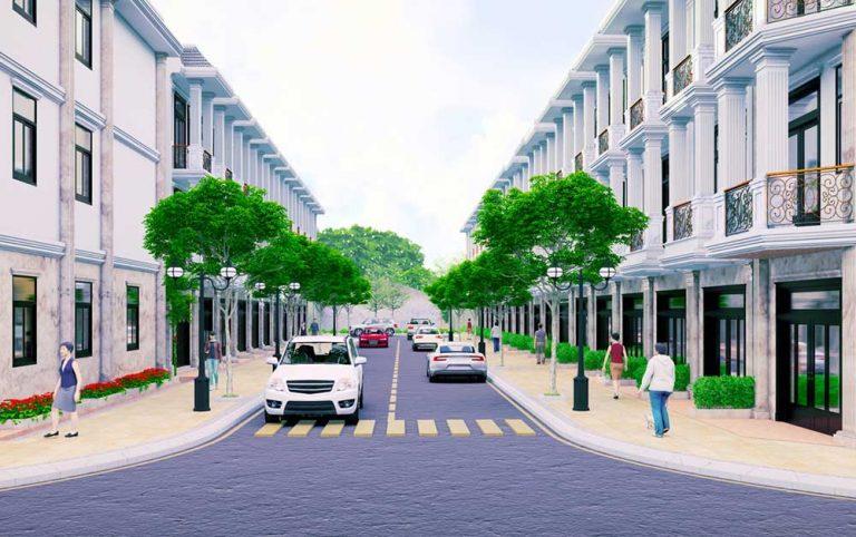 Nhà phố Hoàng Nam Group