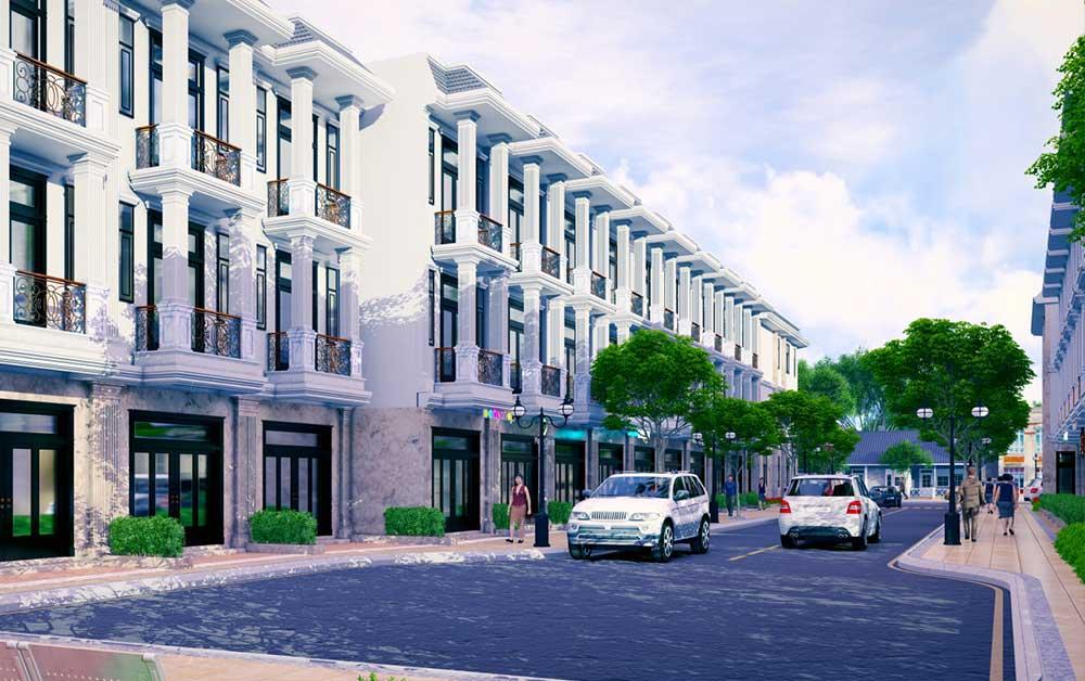 Nhà phố liền kề Hoàng Nam Group