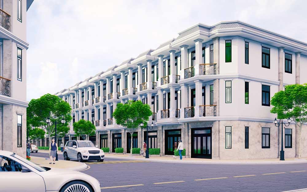 Nhà phố thương mại - Hoàng Nam Group