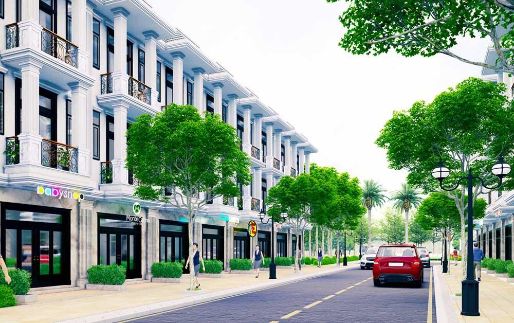 Nhà phố xây sẵn - Hoàng Nam Group