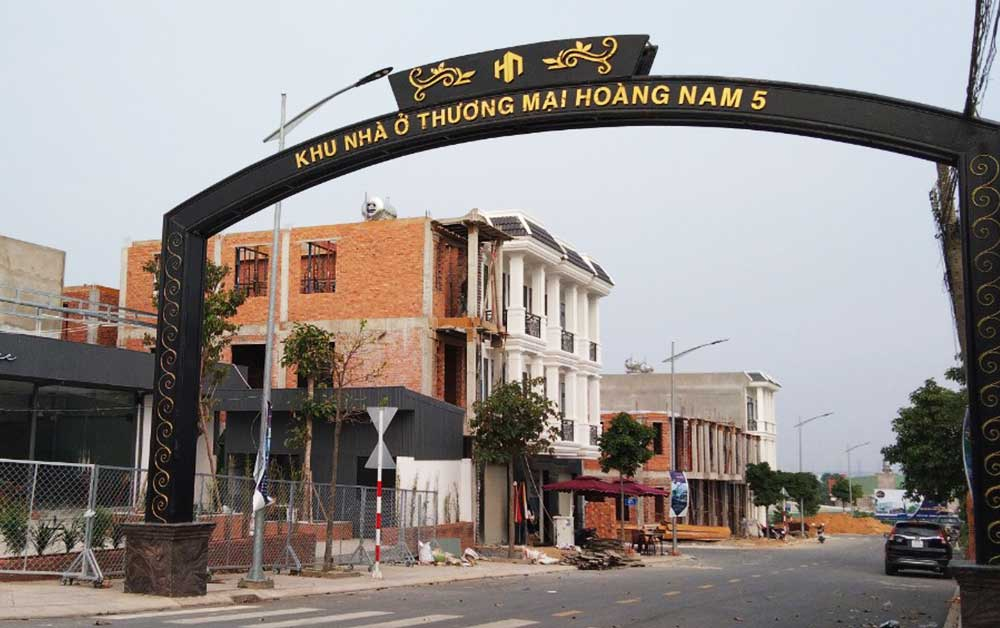 Nhà phố Dĩ An Bình Dương - Hoàng Nam Group