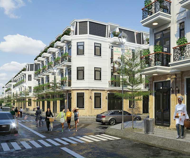 01 Shophouse Nhà phố Bảo Phú Residence