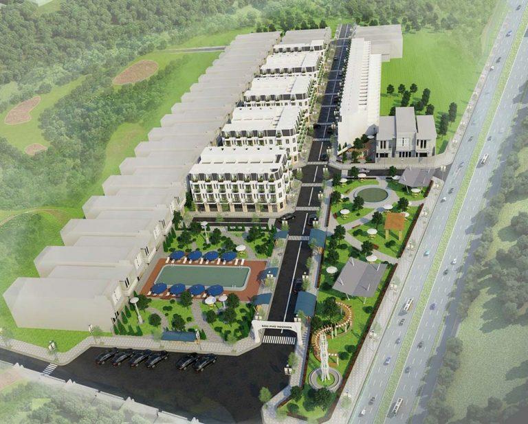 Tổng thể khu dân cư Bảo Phú Residence Q12