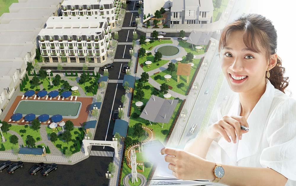 Phối cảnh dự án nhà trung tâm Quận 12 - Bảo Phú Residence của Linh