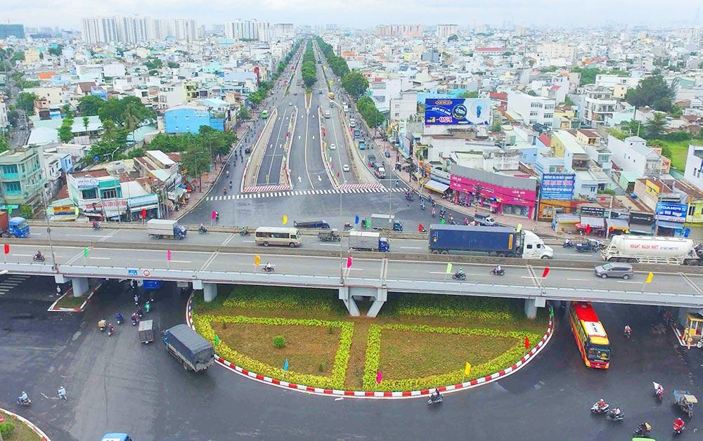 Kết nối giao thông thuận tiện với Quốc Lộ 1A