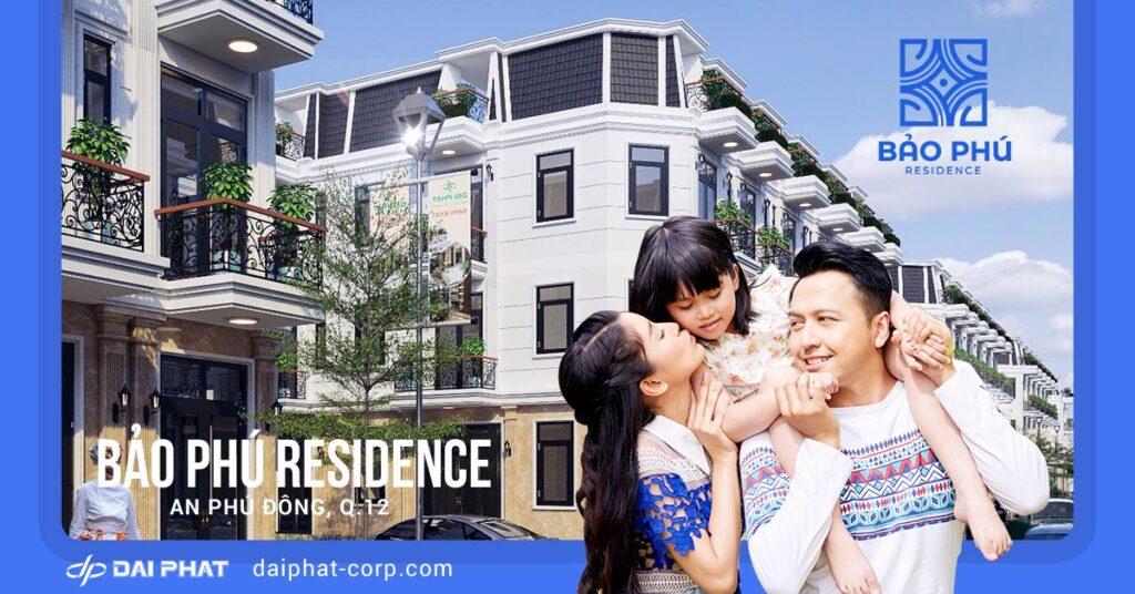 Nhà phố Bảo Phú - Đại Phát Corporation